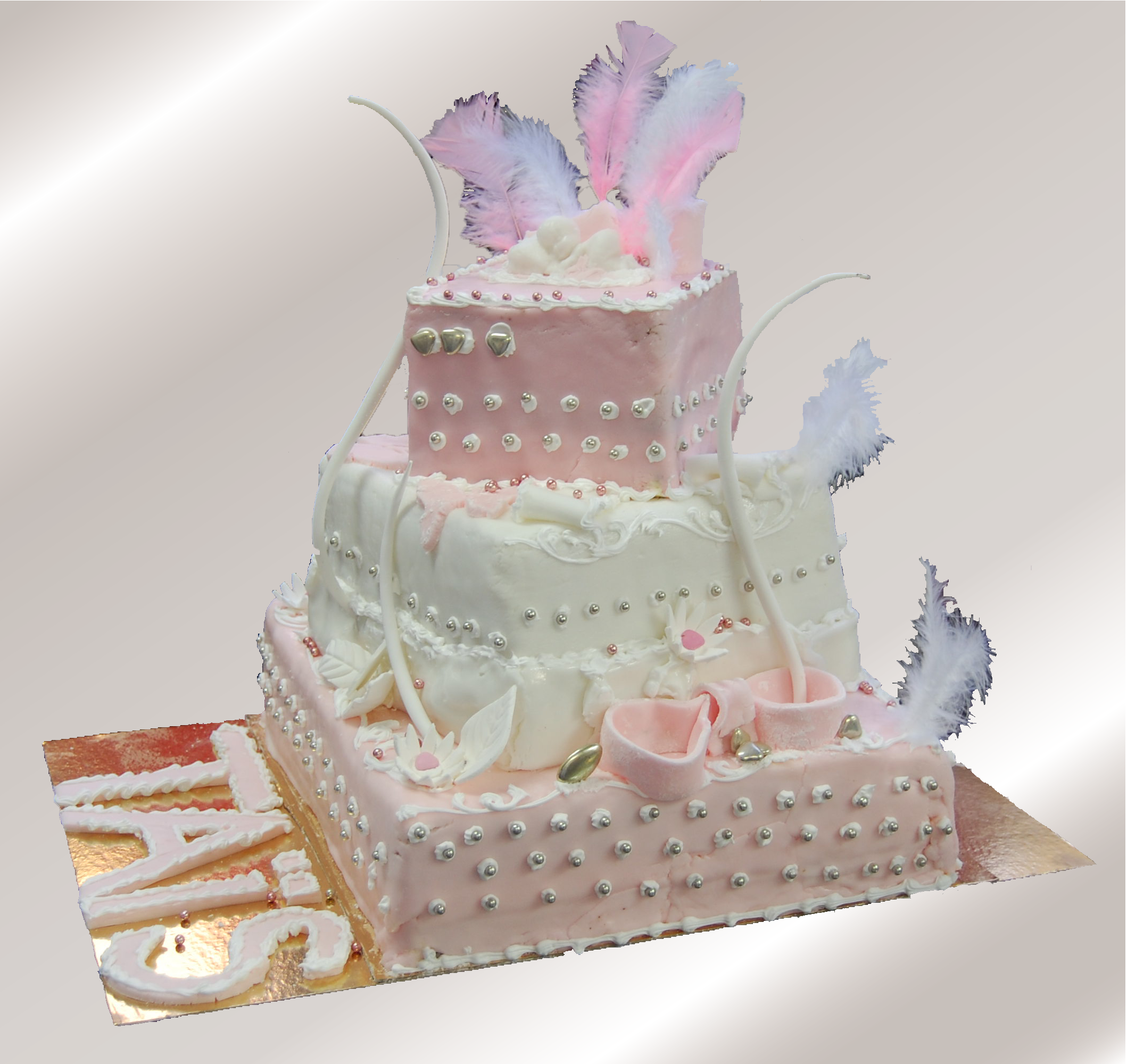 Wedding Cake carre